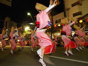 阿波おどり、市側が止めるも踊り手が話を聞かず総踊り強行へ